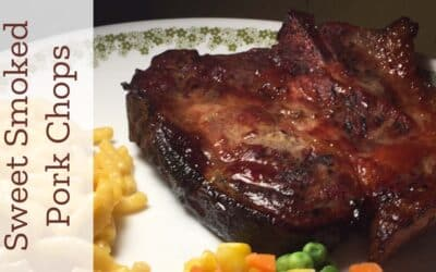 Sweet Smoked Pork Chops