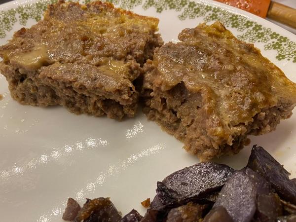 Triple Meat Meatloaf